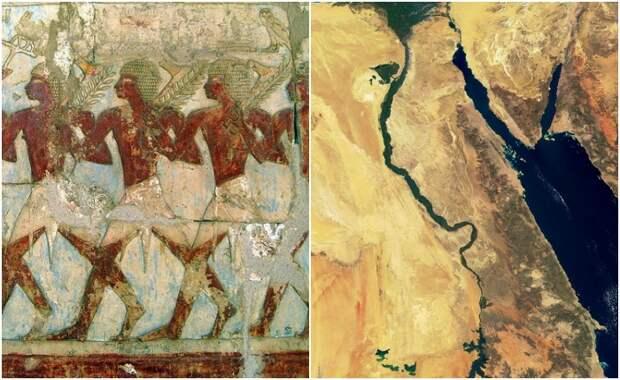 Откуда к древним египтянам пришли их боги?
