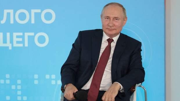 В.В. Путин. Фото находится в свободном доступе.