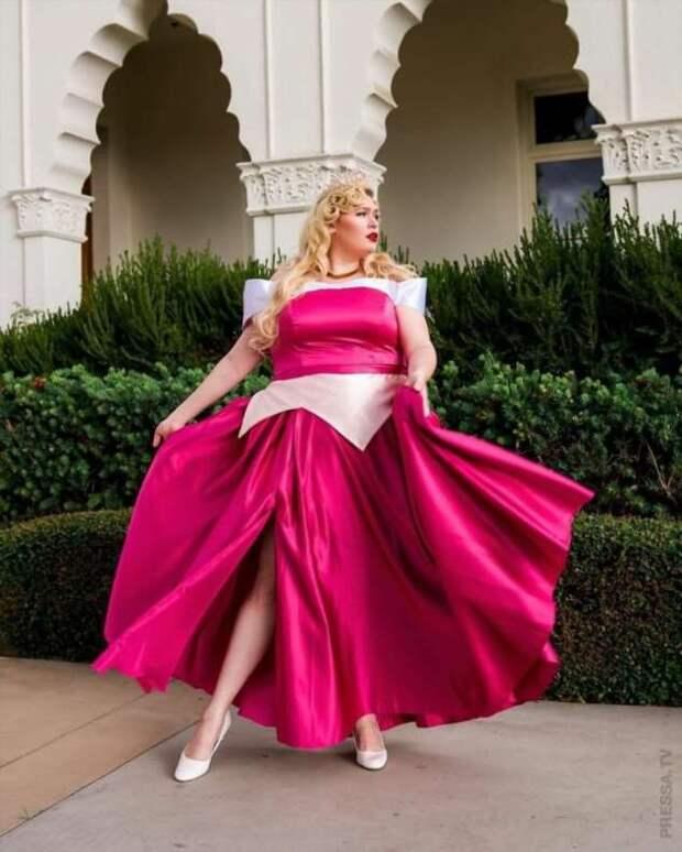 Если бы принцессы Диснея имели пышные формы