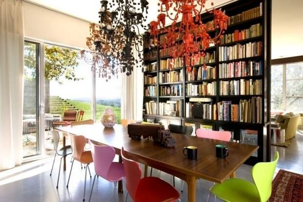 Домашняя библиотека – интерьерные решения