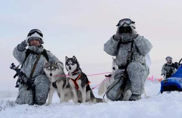 Ответ войскам НАТО: российский спецназ штурмует Арктику (ВИДЕО)