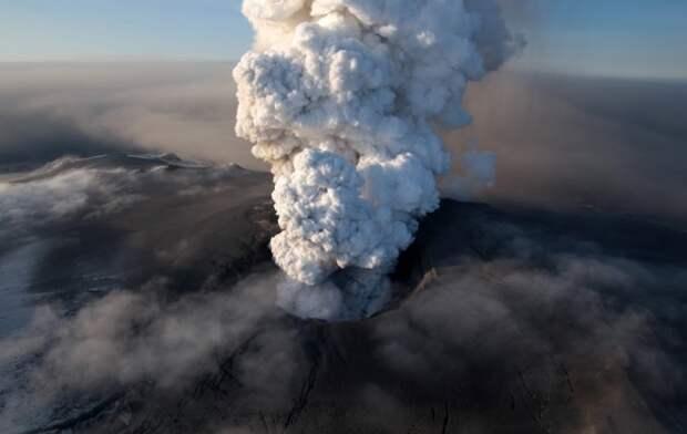 Исландия действующий вулкан