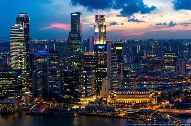 Сингапур самый необычный, чистый, современный, безопасный и удивительный город