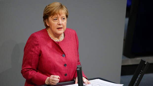 «Германия приняла решение»: Меркель заявила о намерении достроить «Северный поток — 2»