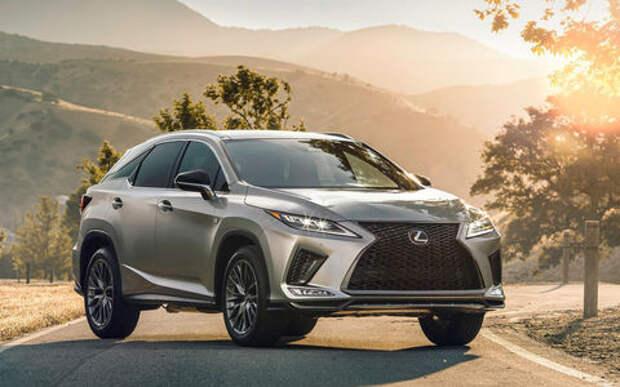 Обновленный Lexus RX: «подтяжка» лица