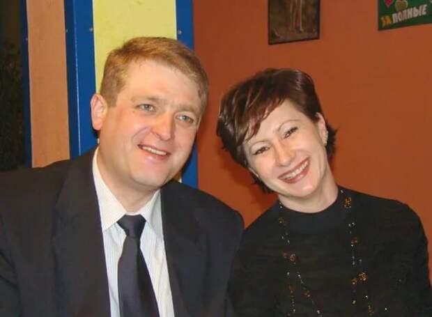 Игорь Красавин с женой. Фото: mail.ru