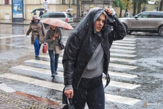 Гордиться дождями больше не сможем. «Яндекс» порвал шаблон петербургской погоды