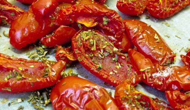 Как в микроволновке приготовить вяленые помидоры. Проще не придумаешь!