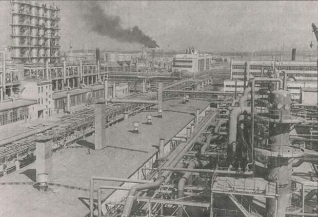 Новокуйбышевский НПЗ, 1970-е г.