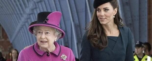 Кейт Миддлтон назвали будущей британской королевой