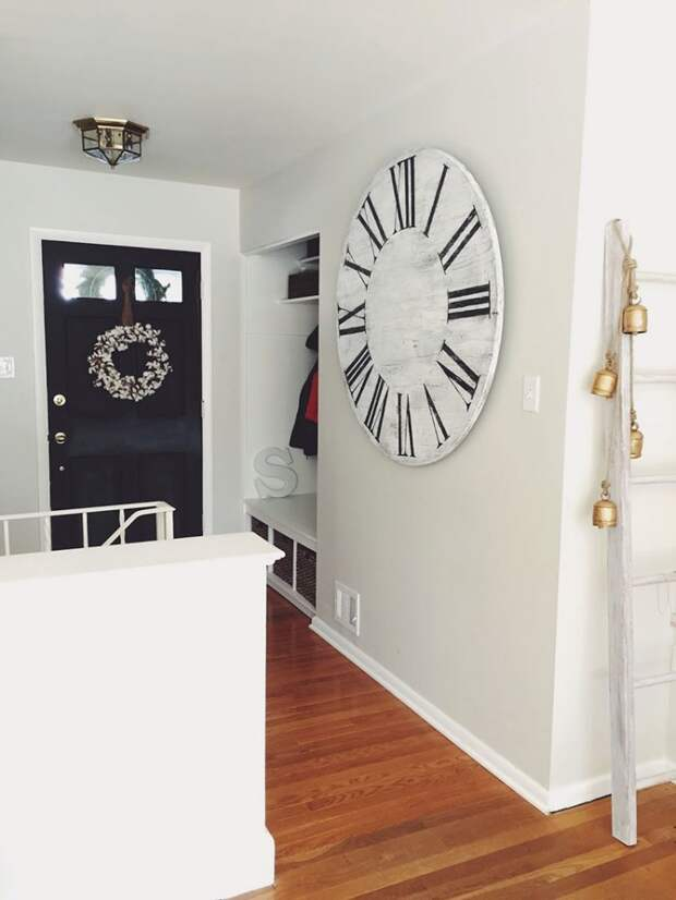 Часы в интерьере фото 33