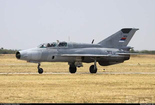 Миг-21 останутся на вооружении ВВС Сербии еще 4 года
