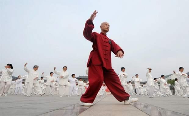 8 кусков парчи: китайская утренняя зарядка (видео)