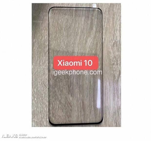 Xiaomi Mi 10 получит основную квадрокамеру с вертикальным расположением модулей