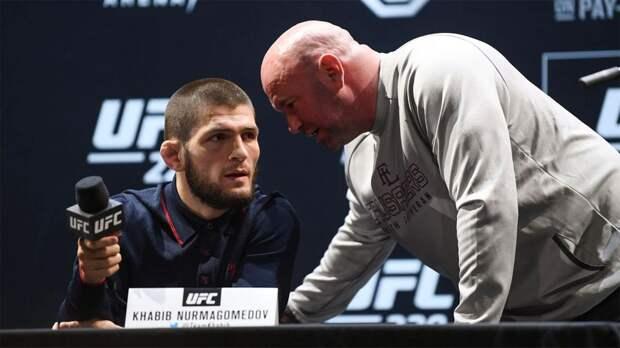 UFC в честь завершения карьеры Хабиба опубликовал видео всех финишей российского чемпиона в организации