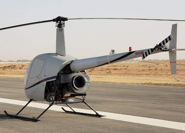Американцы переделали легкий вертолет в грузовой беспилотник