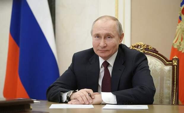 Путин пожелал президенту США здоровья