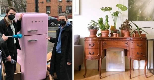 45 раз, когда люди выбрасывали отличную мебель, но она находила новых хозяев