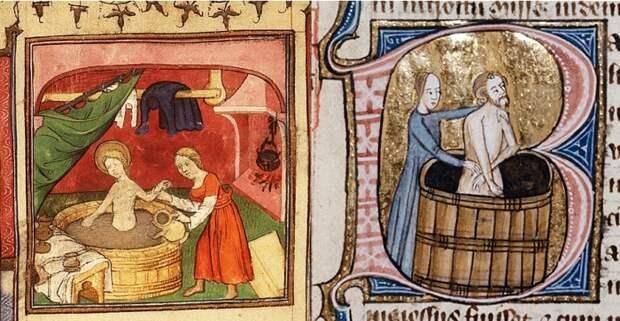 Гигиена в Средние века, вопреки всему, была, но достаточной ее не назовешь. /Фото: pikabu.ru