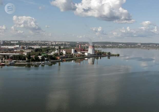 Новый плавучий остров в акватории Ижевского пруда может привести к ЧС