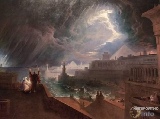 Всемирный Потоп заливал Сибирь кипятком