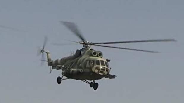 Вертолеты ВСУ провели учения на границе с Крымом