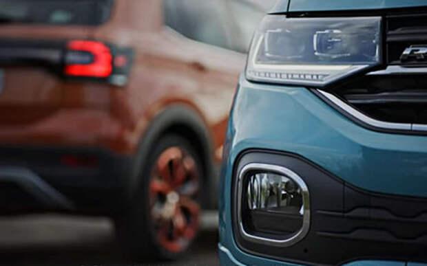 Volkswagen показал новый кроссовер на видео