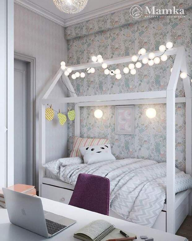 Интересный вариант: Кровать для ребенка. Выбираем и оформляем с толком