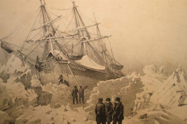 Террор во льдах: ученые обнаружили судно легендарной арктической экспедиции