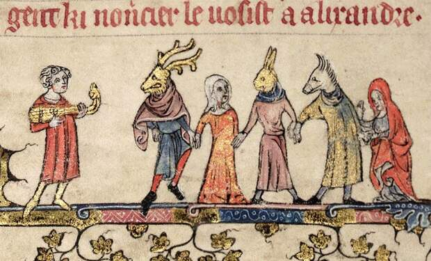 Бродяги и нищие в Средние века 21