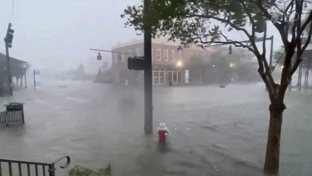 Юго-восток США оказался во власти урагана «Салли»