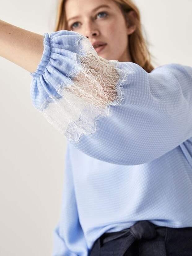 детали из полосатой ткани шитье своими руками