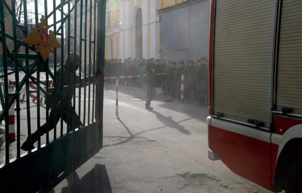Стали известны подробности взрыва в военной академии в Петербурге