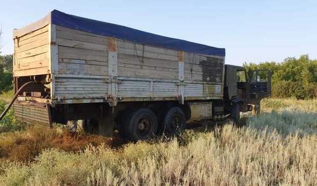Краденую нефть перевозили взерновозе двое жителей Волгоградской области