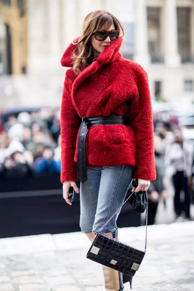 Модная шуба 2021: материал, цвет, крой