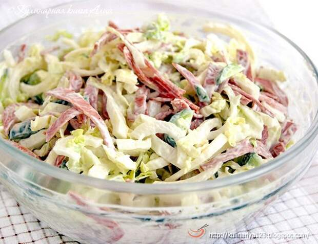 Топ-10 самых быстрых салатов, готовятся всего за 10 минут