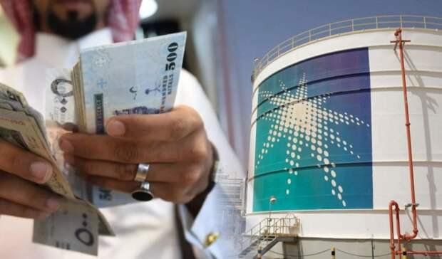 Налог надобычу нефти вдвое сократила Saudi Aramco