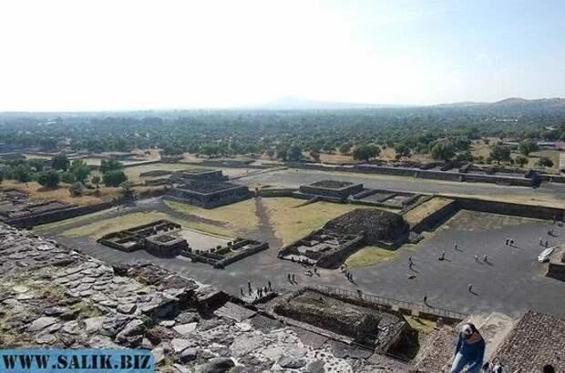 О городе Теотиуакане - настоящей загадке древности