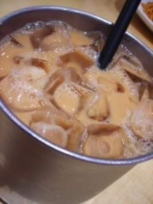 Безалкогольные напитки. Кофейная серия. Гонконгский кофе-чай Юанянг