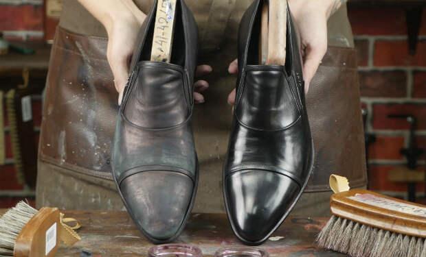 Почему обувной крем портит обувь: исправляем