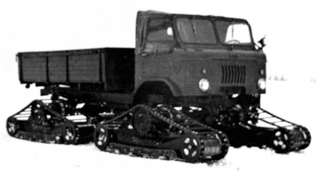 Неизвестные вездеходы ГАЗ, которые не пошли в серию