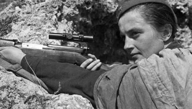 Советские женщины-снайперы, которых нацисты боялись какогня