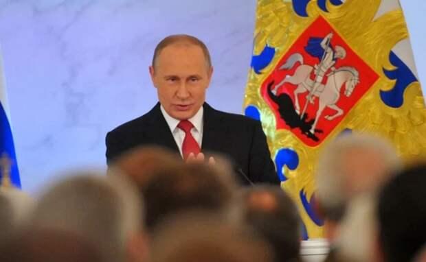 Главный сигнал послания который подал Путин Западу и их марионеткам в российской элите