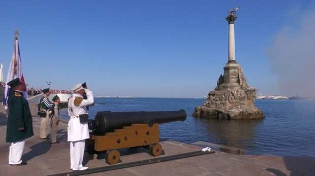 В Севастополе прошли торжества в честь Дня Военно-Морского Флота (ВИДЕО)