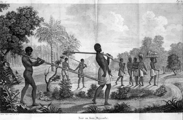 Порабощенные африканцы (Ангола, 1786 - 1787 годы)