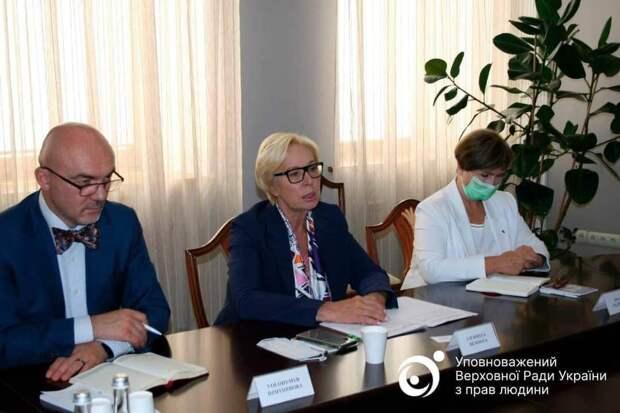 Денисова пожаловалась немцам на нарушения прав украинских детей