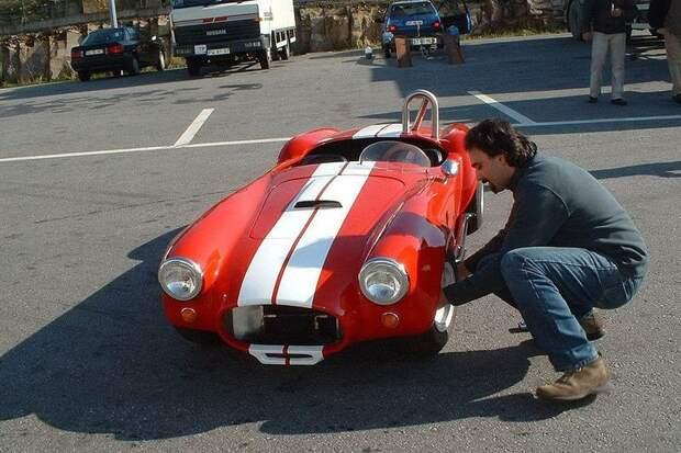 AC Cobra авто, игрушка, копия, миниавтомобиль, моделизм, модель, самоделка, своими руками
