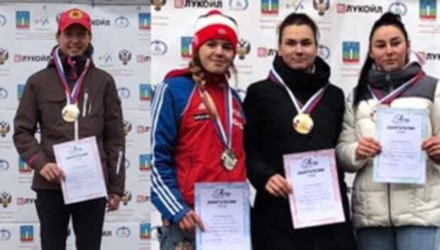 Подольские лыжницы завоевали золото и серебро на чемпионате области по кроссу