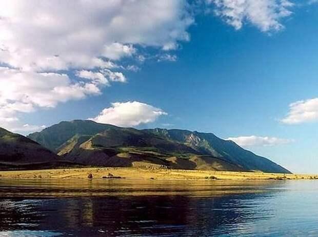 Мыс Рытый, Байкал
