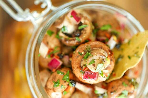 Вкусные маринованные грибы – подборка рецептов с фото